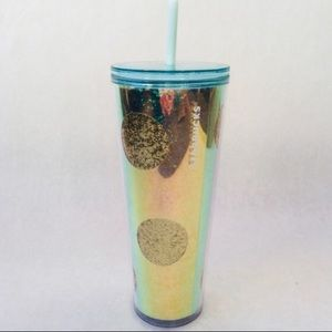 Starbucks Glitter Dot Cold Cup